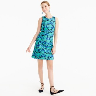 A-line dress in vineyard jacquard $138 thestylecure.com