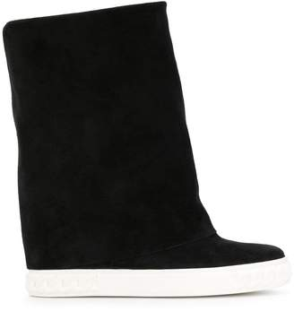 Casadei Chaucer foldover boots
