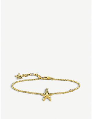 Thomas Sabo Glam & Soul 18ct yellow-gold starfish bracelet