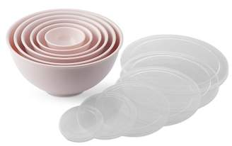 Williams-Sonoma Williams Sonoma Melamine Mixing Bowls with Lid, Set of 6, Pink