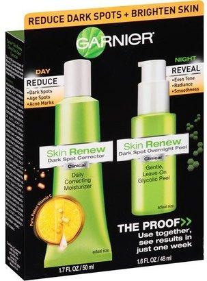 Garnier Skin Renew Dark Spot Corrector & Dark Spot Overnight Peel, 2 pc, 3.3 fl oz $16.25 thestylecure.com
