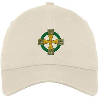 Celtic Speedy Pros Cross Style 2 Twill Cotton 6 Panel Low Profile Hat