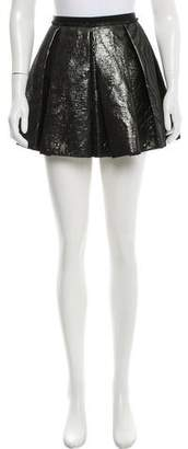 Giles Metallic Mini Skirt