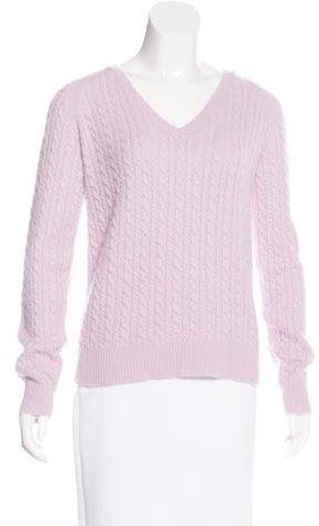 Alberta FerrettiPhilosophy di Alberta Ferretti Cashmere Cable Knit Sweater