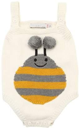 Stella McCartney Bee Intarsia Cotton Knit Bodysuit