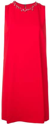 Moschino piercing neckline mini dress