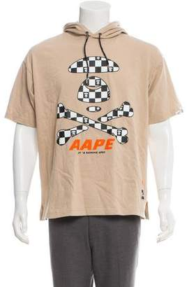 A Bathing Ape Aape by Hooded Graphic T-Shirt w/ Tags