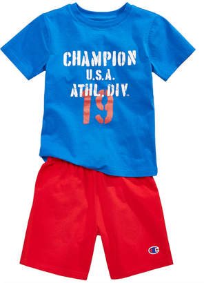 Champion 2-Pc. Cotton T-Shirt & Shorts Set, Toddler Boys