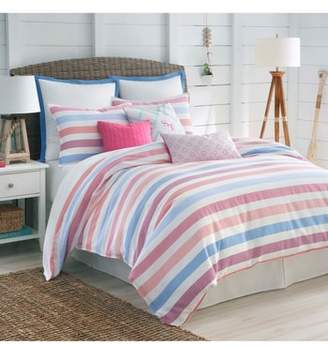 Southern Tide Long Bay Stripe Comforter, Sham & Bed Skirt Set
