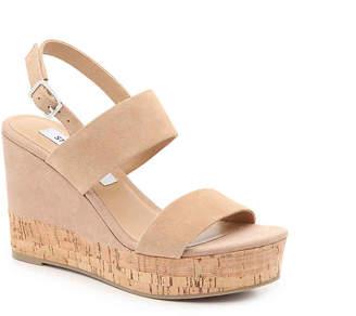e926110661f Steve Madden Cork Heel Women s Sandals - ShopStyle