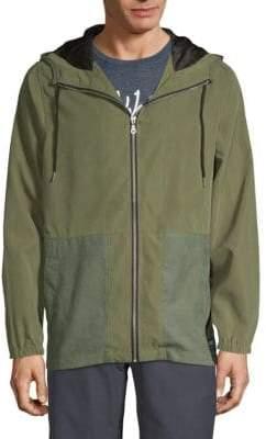 Ezekiel Krowe Hooded Zipper Jacket