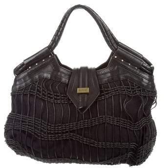 Botkier Leather-Trimmed St. Tropez Bag