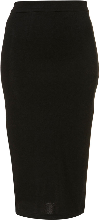 Jersey Pencil Skirt