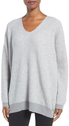Women's Eileen Fisher Recycled Cashmere & Lambswool Sweater $438 thestylecure.com