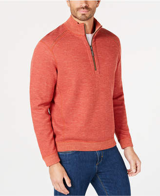 Tommy Bahama Men's Reversible Flipsider Half-Zip Pima Cotton Sweatshirt