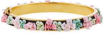 Mignonne Gavigan Petite Julia Floral Beaded Bangle Bracelet