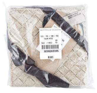 Bottega Veneta Set of 6 Intrecciato Coasters w/ Tags