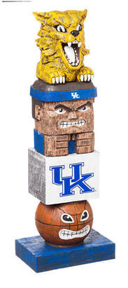 Evergreen Kentucky Wildcats Tiki Totem
