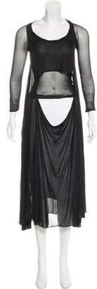 Alexander McQueen Cutout Midi Dress