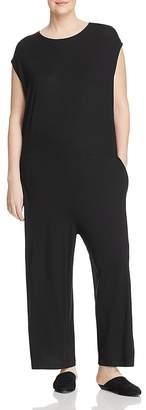 Eileen Fisher Plus Wide-Leg Jumpsuit