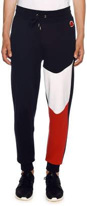 Moncler Men's Lounge Pants with Tricolor Detail