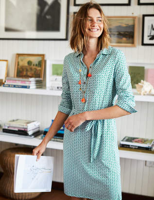 Boden Jena Jersey Shirt Dress
