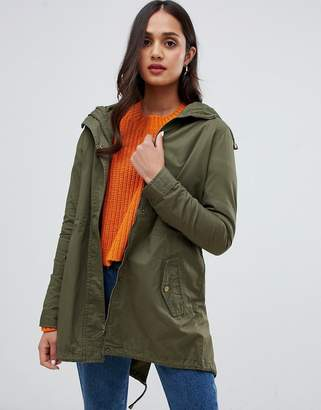 Brave Soul meredith parka with back detail