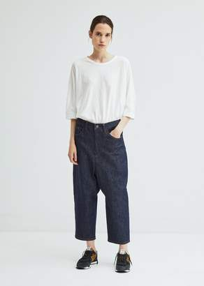 Y's Gusset Drop Crotch Denim Pant