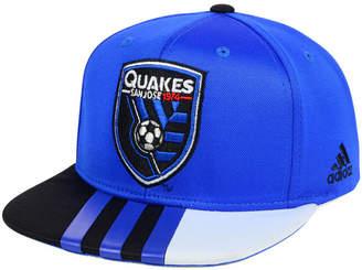 adidas San Jose Earthquakes Authentic Team Snapback Cap