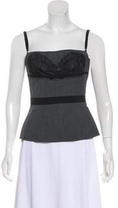DKNY Sleeveless Lace Top