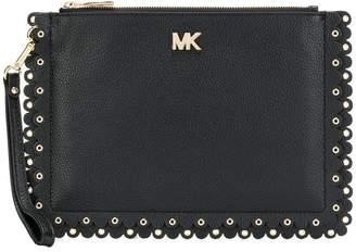MICHAEL Michael Kors scalloped pouch medium