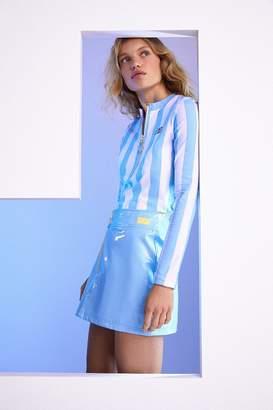 Fila + Pierre Cardin Patent Mini Skirt