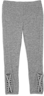 Chaser Girls' Knit Cutout Leggings - Little Kid