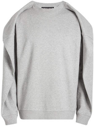 Y/Project Layered Cotton Sweatshirt