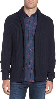 Nordstrom Chunky Rib Shawl Collar Cardigan