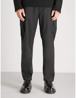 Helmut Lang Cargo Suiting relaxed-fit crepe trousers