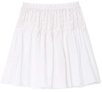 Merlette Eden Skirt with Smocking At Waist