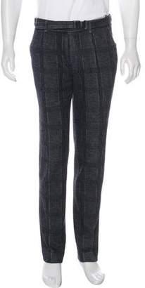 Saint Laurent Wool-Blend Cropped Pants