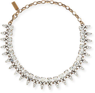 clear Auden Arya Crystal Statement Necklace