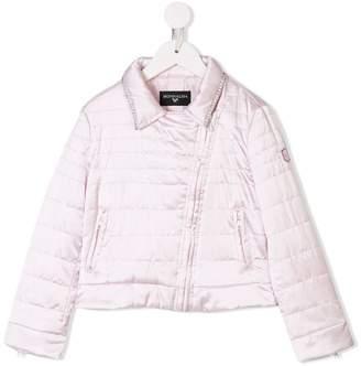 MonnaLisa zipped padded jacket