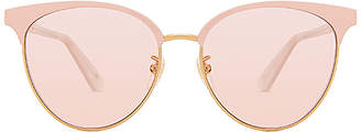 Gucci Specialized Fit Round Metal