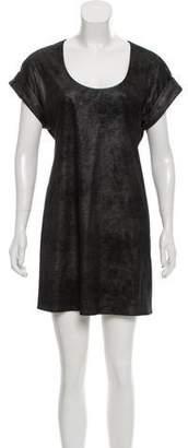 Jay Godfrey Textured T-Shirt Dress
