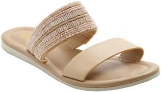 Kensie Slip-on Flat Sandals - Diva