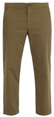 Barena VENEZIA Mid-rise stretch-cotton chino trousers