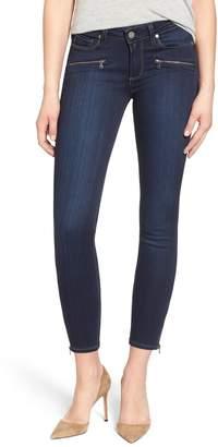 Paige 'Jane' Crop Zip Skinny Jeans