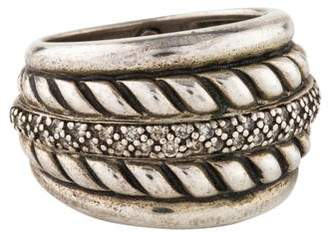 David Yurman Diamond Cable Band