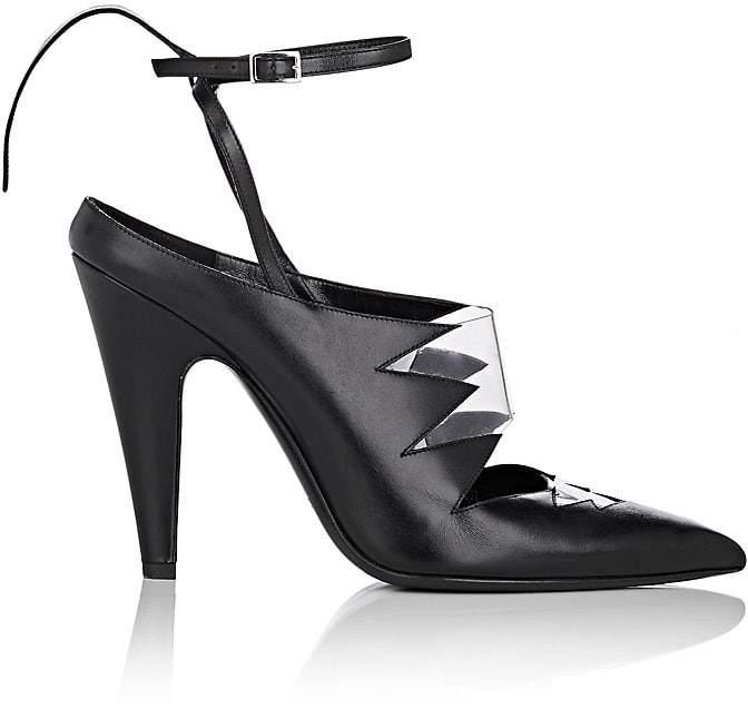 CALVIN KLEIN 205W39NYC Women's Kai Leather Ankle-Strap Pumps
