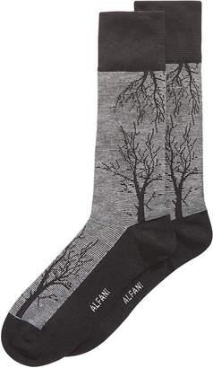 Alfani Men's Tree-Branch Printed Socks