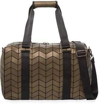 Patrizia Luca Geometric Tiled Weekender Travel Bag