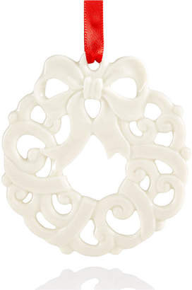 Lenox Wreath Charm Ornament, Created for Macy's